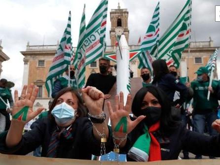 Warnstreik bei Alitalia - Flüge nach Deutschland gestrichen