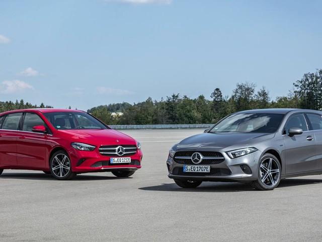 Mercedes A 250 e / B 250 e - A-Klasse und B-Klasse werden teilelektrisch: Verbrauch sinkt auf 1,5 Liter