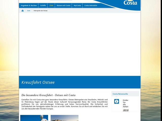 Ostsee-Kreuzfahrten 2016/2017 - Costa Kreuzfahrten