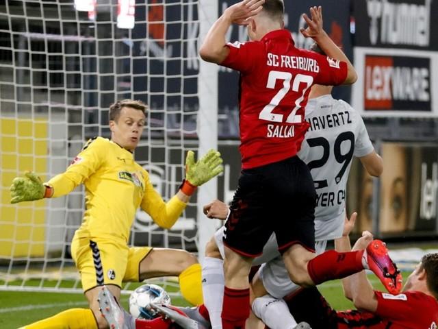 Bundesliga: Havertz erspitzelt den Sieg