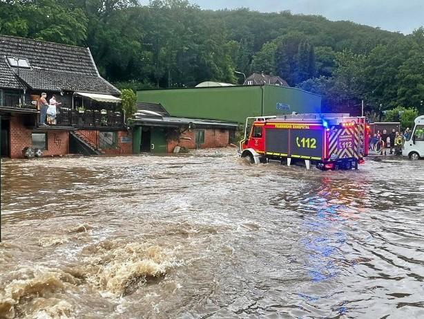 Unwetter: Hochwasser im Ennepe-Ruhr-Kreis: Hilfe für Unternehmen