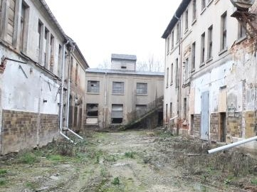 Auferstanden aus Ruinen: In Ex-Fabrik sollen Kinder toben