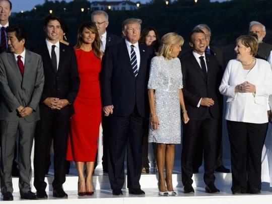 G7-Gipfel - Teilnehmer beraten über Klimaschutz