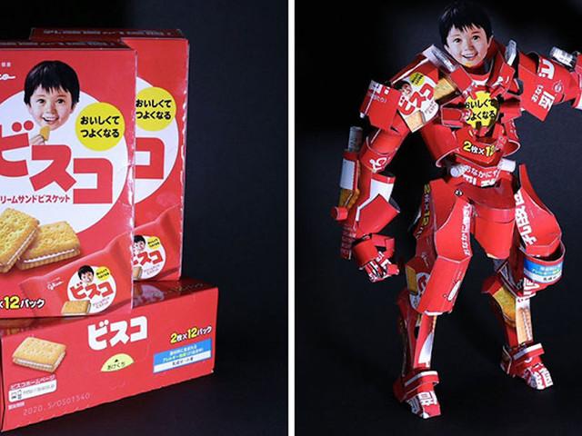 Der Japaner Haruki entwirft beeindruckende Kunst aus Produkt-Verpackungen