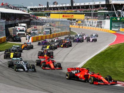 Formel 1: Coronakrise Formel 1 bricht sämtliche Rekorde