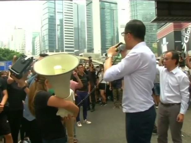 Proteste gegen Auslieferungsgesetz in Hongkong eskalieren