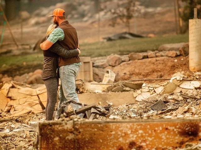 """Feuer in Kalifornien: """"Alle Häuser sind nur noch Asche. Es ist furchtbar"""""""