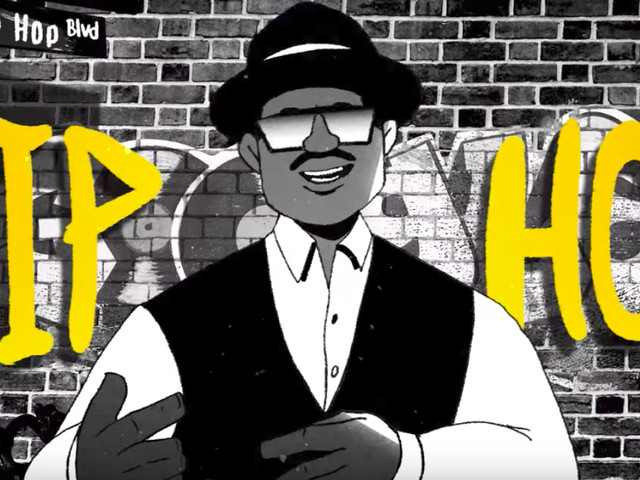 44 Jahre HipHop   Das großartige Google Doodle zum Ehrentag - Werde DJ