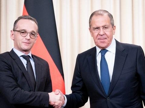 Außenminister Maas in Moskau: Deutschland will bei Streit um Asowsches Meer schlichten