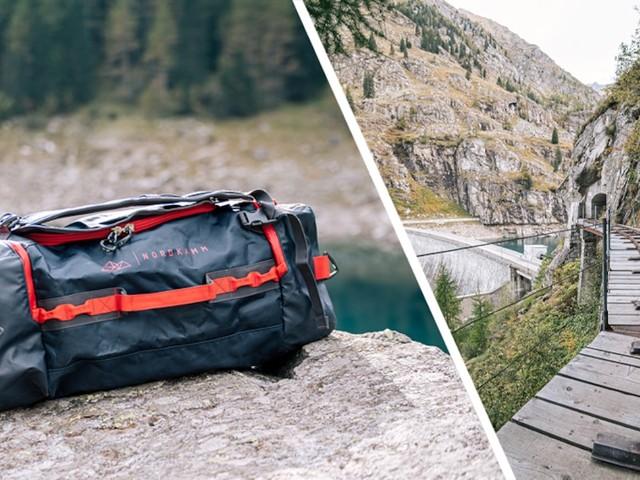Shopping-Deal mit FOCUS Online - Camping- oder Kurztrip: Nordkamm Reisetasche mit Rucksackfunktion günstig bestellen
