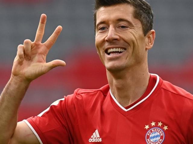 Lewandowski erzielt beim 5:0 gegen Frankfurt drei Tore