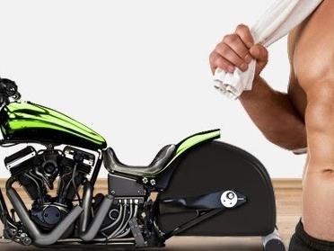 Schneller fit: Neuartiges Zimmermotorrad ersetzt pedalbetriebene Hometrainer