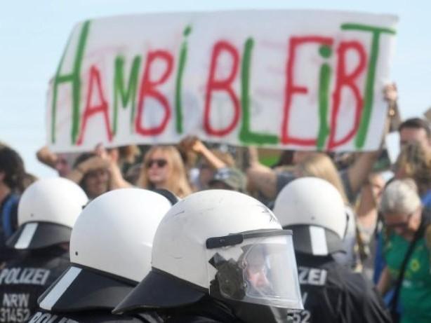 Gerichtsurteil: Protestcamp am Hambacher Forst muss geräumt werden