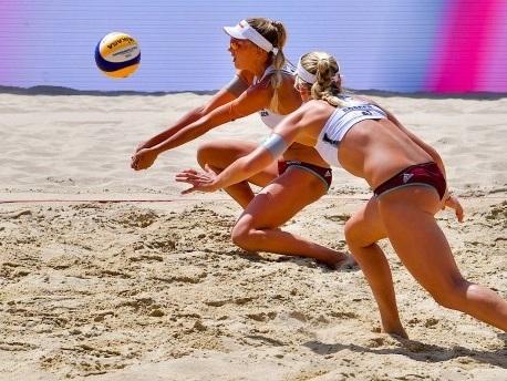 Beachvolleyball-EM: Borger und Kozuch tanzen durchs Turnier