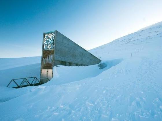 Saatgut-Depot in der Arktis wird wegen Klimawandel umgebaut