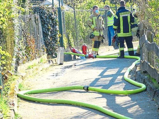 Münsterland: Tote Person in der Gartenlaube