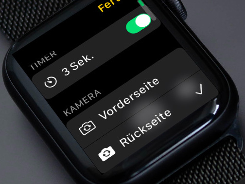 Tipp: Die Apple Watch als Fernbedienung für die iPhone-Kamera