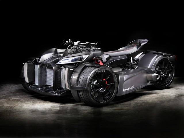 Lazareth Wazuma V8M: Killer-Trike mit 460 PS