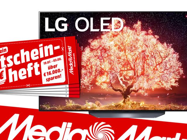 Riesenglotze zum Sparpreis: LG 77 Zoll-OLED günstig bei Media Markt