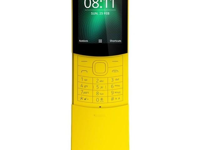 Nokia 8110: Feature-Phone jetzt im Handel erhältlich