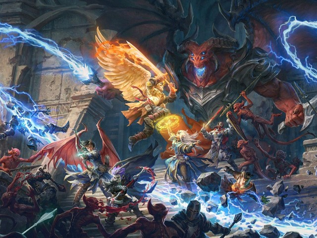 Pathfinder: Wrath of the Righteous - Dunklere Atmosphäre, drei Editionen und Erweiterungen nach dem Verkaufsstart