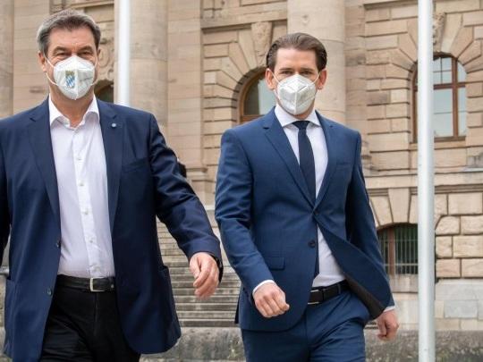 Corona-Pandemie - Kleiner Grenzverkehr zwischen Bayern und Österreich wieder möglich