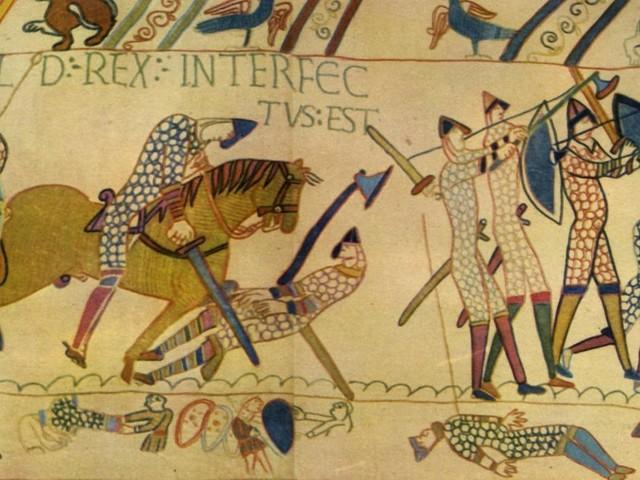 So knackten die Normannen den Schilderwall der Angelsachsen