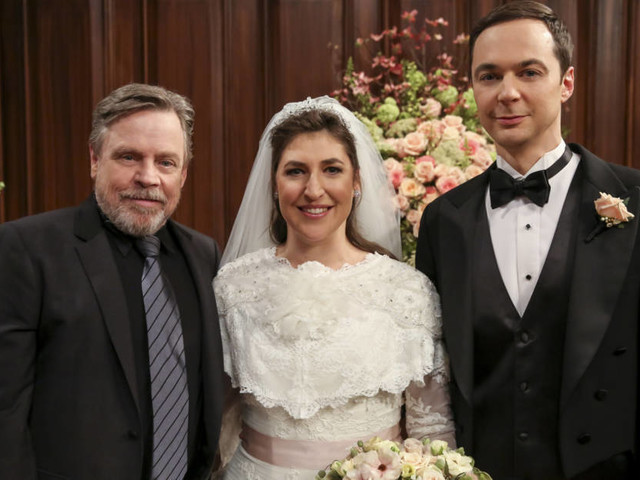 """The Big Bang Theory"": Sheldon-Hochzeit sorgt für Flitter-Quote"
