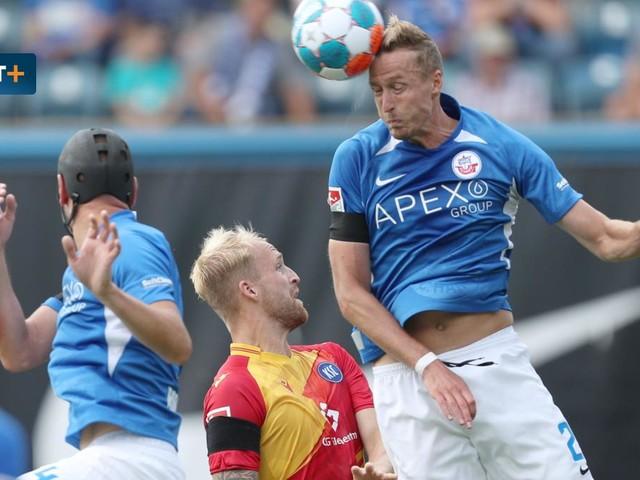 Hansa Rostock gegen Karlsruher SC – Die Highlights im Video