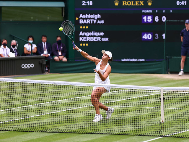 Tennis: Wimbledon 2021 - Finale der Damen Ashleigh Barty vs. Karolina Pliskova heute live im TV, Livestream und Liveticker
