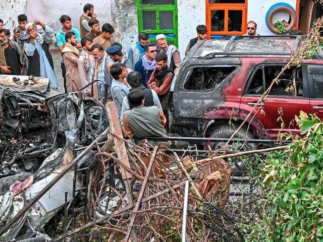 Tödlicher US-Drohnenangriff in Kabul traf wohl nicht Attentäter, sondern Zivilisten