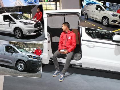 Neue XL-Kastenwagen: Test Neue XL-Lieferwagen im Vergleich