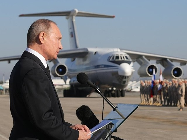 Putin verkündet Rückzug aus Syrien