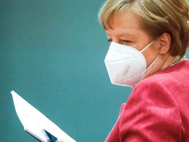 Kanzlerin Merkel über neue Klimaziele der Bundesregierung