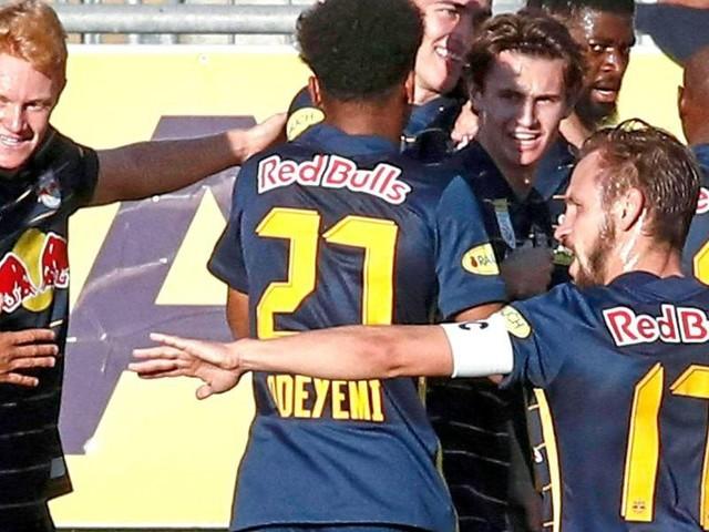 2:0 gegen WAC: Salzburg bleibt unschlagbar