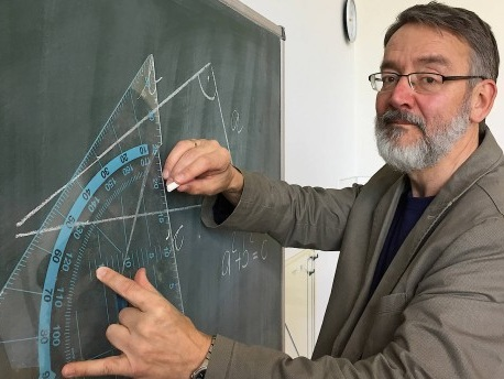 Im Interview: Norman Bitterlich, Cheforganisator der Mathe-Olympiade