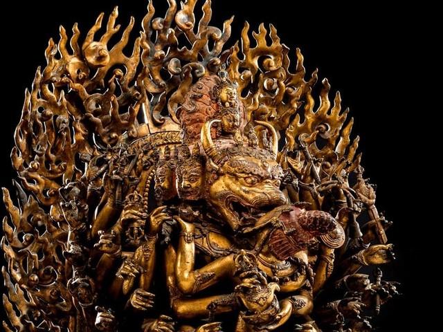 Figur aus der Ming-Dynastie erzielt Rekordwert: 169 Kilogramm Bronze für 9,5 Millionen Euro