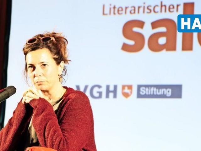"""Eva Menasse stellt neuen Roman """"Dunkelblum"""" in Hannover vor"""