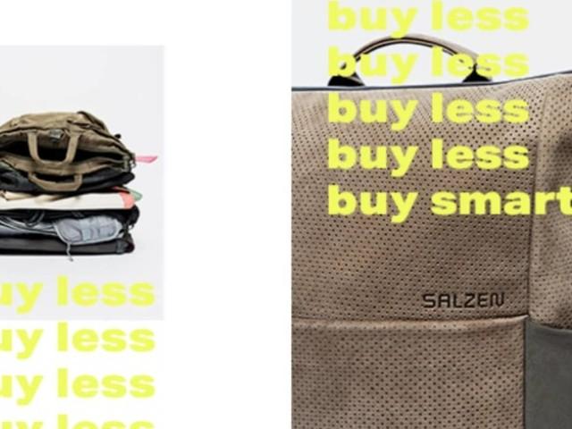 Buy less, buy smart! Kölner Start-up SALZEN ermutigt zu nachhaltigem Rucksackkauf