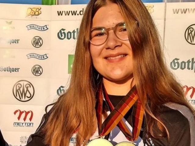 Sportschützin Franziska Thürmer vom SV Dransfeld dominiert bei Deutscher Meisterschaften