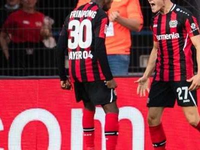 Die Leverkusener Erfolgsformel heißt Florian Wirtz: Mit seinem zehnten Tor knackte der 18-Jährige den Bundesliga-Rekord von Fußball-Idol Lukas Podolski und bescherte Bayer den nächsten Sieg.