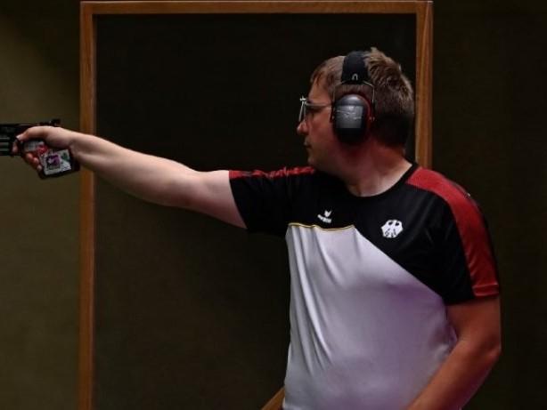 Schießen: Reitz verpasst Medaille mit der Schnellfeuerpistole
