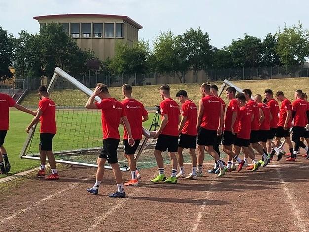 Trainingsstart in Halle-Neustadt: Motivierter HFC legt die Messlatte höher