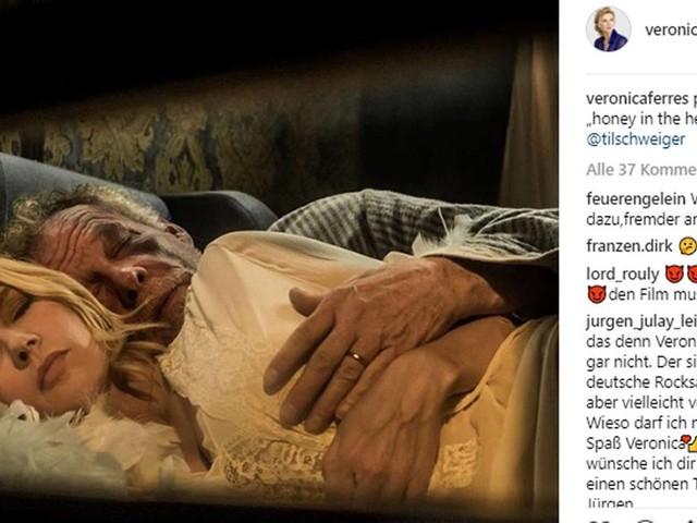 """""""Head Full of Honey"""": Veronica Ferres postet Foto aus ihrem Film - und kennt den Titel nicht"""