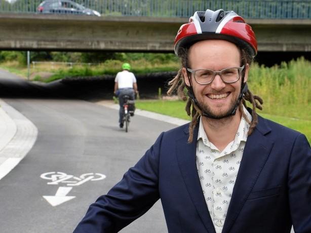 Winterhude: Hamburgs neuer Radschnellweg ist fertig