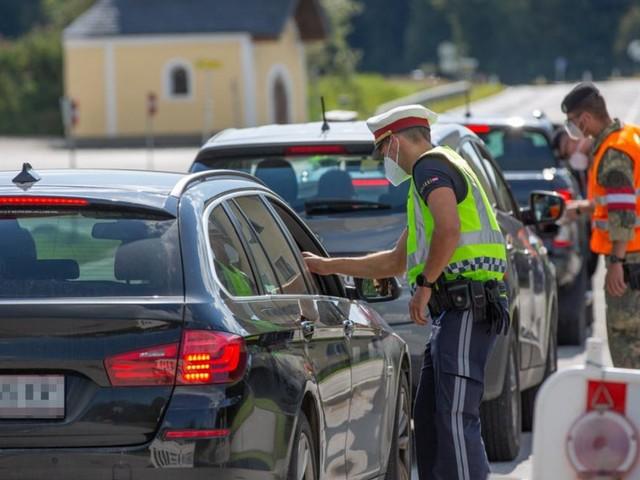 Corona-Ausreisekontrollen im Bezirk Braunau enden um Mitternacht