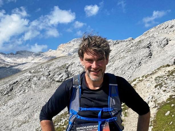 Extremsport: Der Bergheider Olaf Ortmann erläuft die Zugspitze