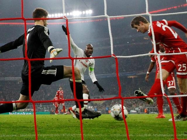 Und dann traf Müller