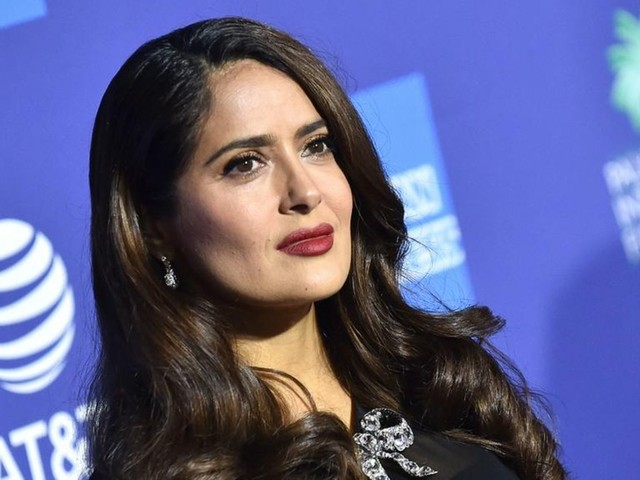 """Salma Hayek: Sie wird Teil des Films """"House of Gucci"""""""