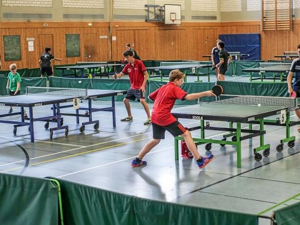 Tischtennis-Stadtmeisterschaften werben um Teilnehmer
